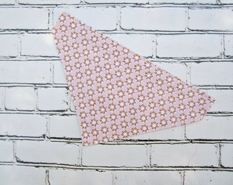 Pretty in Pink Slip-On Bandana for Dogs