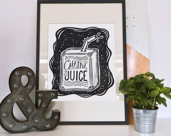 Creative Juice 8X10 Print