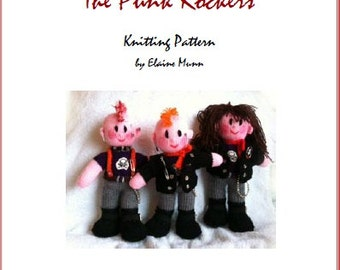 The Rock Chick & The Punk Rocker Knitting Pattern