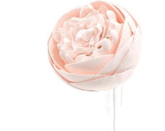 Blush Pink Peony Sugar Flower
