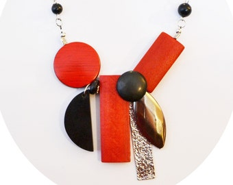 Funky Necklace for all occasion adjustable/ collier funky ajustable