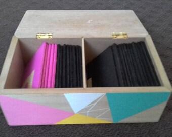 Montessori Alphabet Sandpaper Letter Tiles