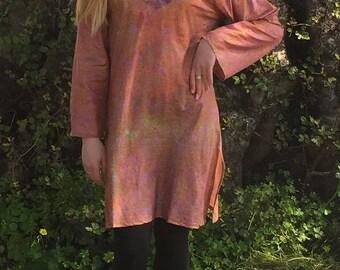 Silk Tunic,Tunic Dress,Tunic Tops,Bohemian Nomad Tribal Ethnic Tunic,Women Dresses,Fashion Tunic,Boho Tunic,Womens Tops,Womens Tunic