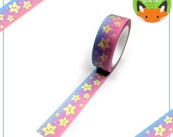 Kawaii Stars Washi Tape (W0006)