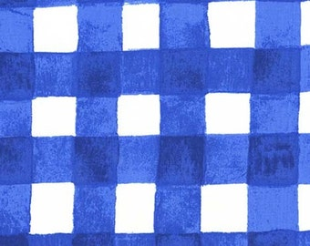 Sommer Painted Gingham in Blueberry by Sarah Jane for Michael Miller Fabrics