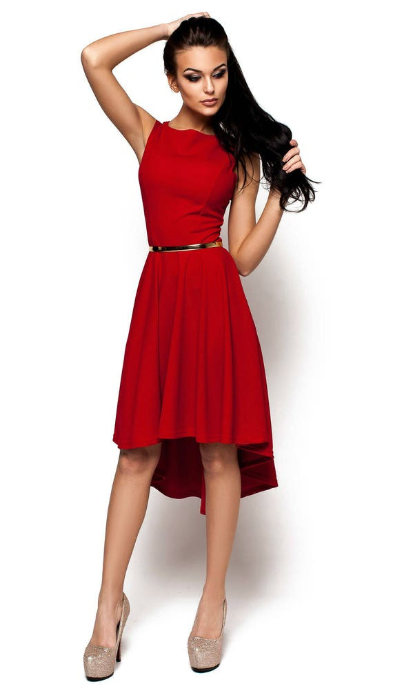 Red formal dress Red party dress for women New collection