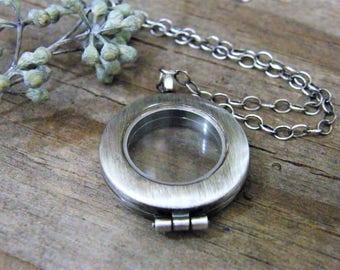 modern shake locket/ sterling silver floating locket exclusive pure rox jewels design