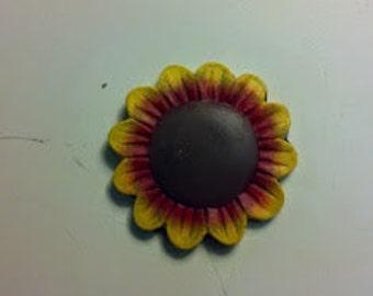 Set of 3 Sunflower Magnets