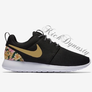 15% OFF SALE Nike Roshe Run Floral Sneakers Supreme Style Men's & Women's  Sizes