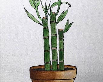 Original Painting-Bamboo