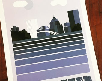 Rochester, NY Poster, Rochester, New York Print, Rochester, New York Poster, Travel Posters