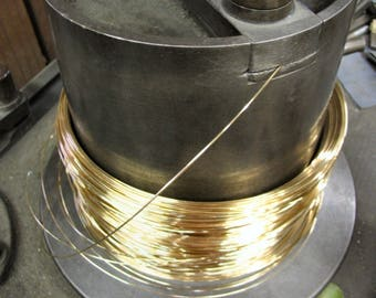 FREE SHIPPING 5 Ft 24g 14K Gold Filled  Round Wire DS (2.59/Ft Includes shipping)