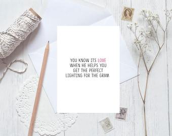 Snuggles Card bequeme Hosen und snuggles süße Karte Liebe