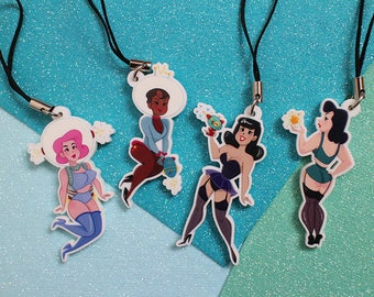 SpaceGals Charms
