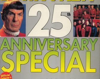 Starlog 1991 25 Years Star Trek Magazine 25th Anniversay Special Near MINT