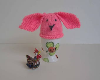 Mister Lapinou rosoufluo egg covers
