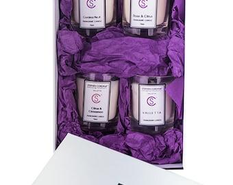 70ml Aromatherapy Hand Balm Candles - set of 4