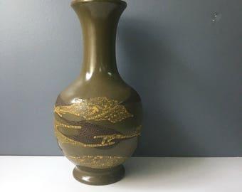Lava finish vase | Etsy on