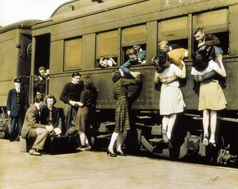Saying Their Goodbyes, 1940