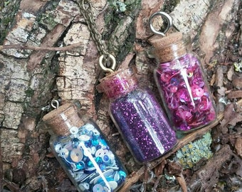 Large Bottle Charm Necklace