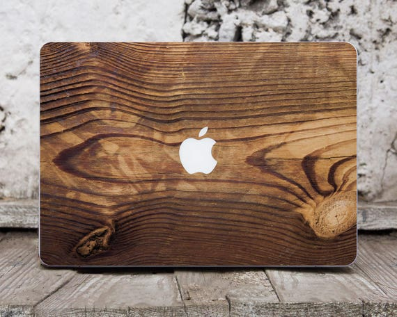 Wooden Macbook Pro Sticker Laptop Skin Laptop Case Decal