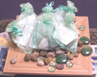 Gemstone Bag for Heart Chakra - Activate, Heal, Cleanse, and Balance
