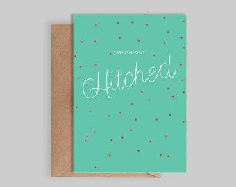Yay You Got Hitched Card