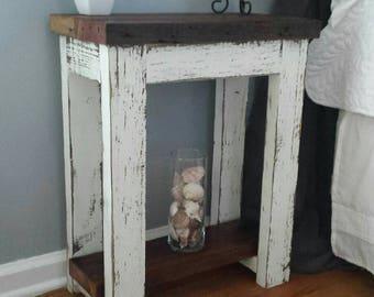 Simply Rustic Barnwood Nightstand