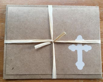 Cross Notecards, Set of 4