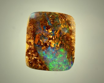 Boulder opal pipe wood