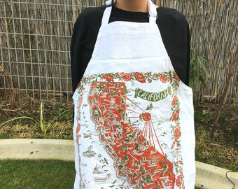 Upcycled Chef's Apron