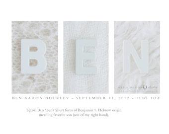Personalized Name Art, New Baby Gift, Child Keepsake Gift, Custom Name Art Meaning, Name Definition Print, Modern Nursery Art, White, Grey