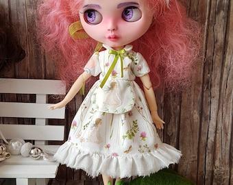 "Blythe dress set romantic ""Spring""."