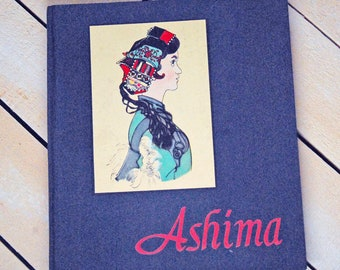 Ashima Vintage Book from China