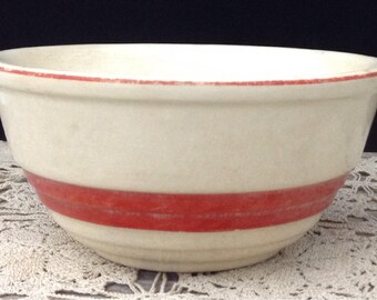 Vintage Pottery Bowl Universial Potteries Bowl Glazed Pottery Bowl Farmhouse Bowl