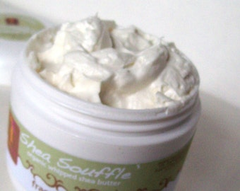 Body Butter,Fragrance Free, Organic Shea Butter,Bath and Beauty, Organic Shea, Whipped Shea Butter,Natural Skincare