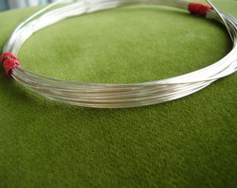 16-gauge dead soft Sterling silver wire
