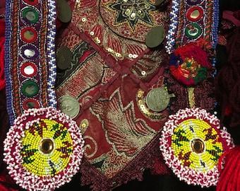 Fire Goddess Tribal Tassel Belt