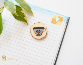 Wood Brooch Pin. Wooden Jewelry. Nature Lover Gift. Lovely wooden brooch.  laser cut wood brooch. Christmas gift. Gift for mom.