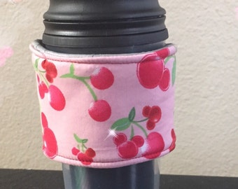 Sweet as Cherries Minnie Reusable Coffee Sleeve