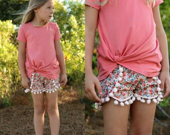 Harbor Knot PDF Sewing Pattern Girls Sizes 2T-14yrs