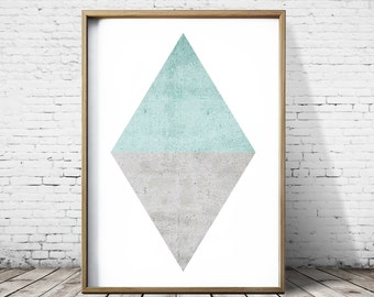 Large Wall Art Prints Zen Posters  Geometric Poster Geometric wall Art Zen Prints Modern Art