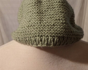 Hand Knitted Wool Stocking Hat