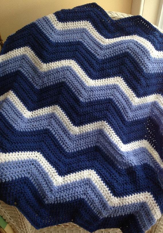 neue Chevron Zickzack ripple Baby Decke afghanischen wickeln