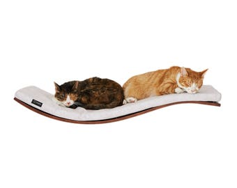 Wall mounted shelf * Wave shelf * Best cat bed * Cat shelf * Cat perch * Cats shelves * Pet supplies * Pet furniture * Cat accessories