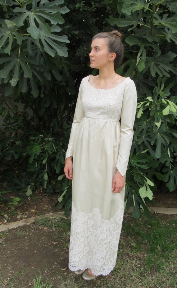 60s Empire Gown