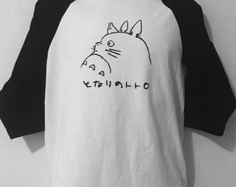 Studio Ghibli: Totoro Baseball Tee