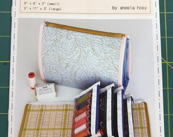 Booklet Pouch Pattern by Aneela Hoey (Paper Pattern)