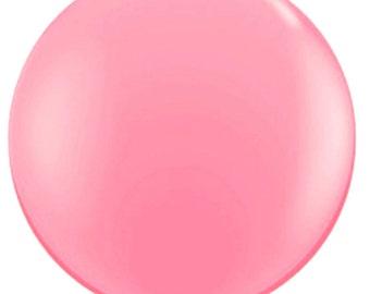 """36"""" balloon- Rose"""