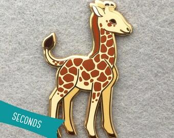 Baby Giraffe Enamel Lapel Pin (SECONDS SALE)